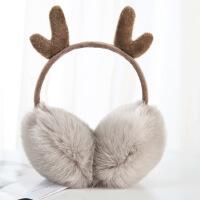 保暖耳罩女冬季可�垌n版�W生耳捂子冬天�o耳毛�q耳包防�雠�生耳套