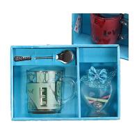 许愿瓶加玻璃杯套装学生礼品创意生日教师节礼物送男女老师同学