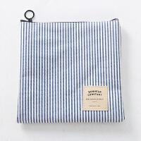 韩版女生帆布卫生巾收纳包纸巾包大姨妈巾收纳袋放卫生棉包月事袋