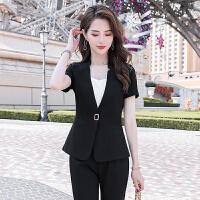【产地直销,小二推荐】职业西装套装女2020春季新款时尚洋气御姐轻熟风气质小外套工作服