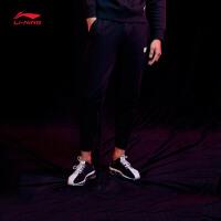 李宁迪士尼星战联名款男士卫裤2018新款长裤子男装春季收口运动裤AKLN229