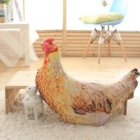 枕腰枕沙发靠垫抱枕礼物创意玩偶母鸡抱枕办公室午休枕休闲靠