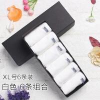 6条礼盒装大码全可爱少女学生中腰女士三角内裤女 白色 6条装纯白组合