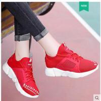 莱卡金顿新款运动鞋女休闲跑步系带轻便透气女子单鞋圆头平跟低帮鞋女JL1687