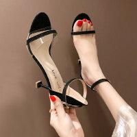 户外潮时尚单鞋女士凉鞋性感气质高跟鞋仙女风晚晚鞋