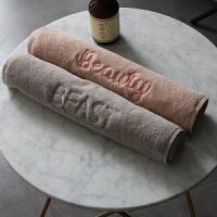 情侣毛巾棉洗脸家用吸水女洗澡健身情侣毛巾浴巾棉