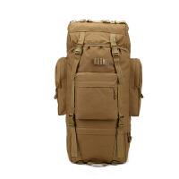 军迷户外大型组合包双肩战术背包65L防水防雨登山旅行包 65L