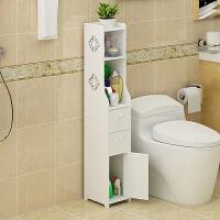 浴室边柜卫生间马桶边柜侧柜窄柜储物柜置物架收纳柜 1个