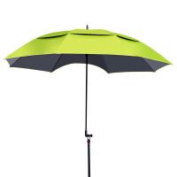 钓鱼伞2米万向防雨黑胶折叠遮阳伞钓鱼雨伞垂钓伞 2米佳钓尼6S伞(苹果绿)碳素