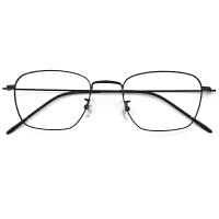 复古眼镜框男潮超轻金属全框眼镜架女韩版显瘦大脸配镜成品细 单镜框