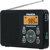 赠耳机!熊猫6105校园广播英语四六级 便携式迷你袖珍AM/FM收音机