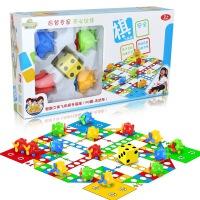 维莱 大号飞行棋地毯式儿童玩具宝宝爬行垫益智子互动游戏棋桌游 红黄蓝绿四色小飞机