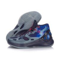 李宁篮球鞋音速V李宁云减震战靴高帮一体织男鞋运动鞋