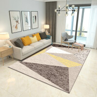 欧式客厅地毯沙发茶几垫卧室床边门厅满铺长方形简约现代美式定制SN0889