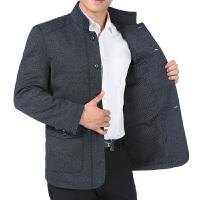 2018春秋季中年男士外套春装中老年人男装40-50岁新款爸爸装夹克