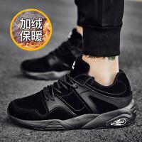 男鞋冬季潮鞋运动鞋韩版潮流休闲鞋百搭板鞋跑步鞋男士棉鞋