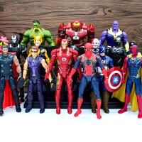 漫威复仇者联盟3无限战争手办蚁人2蜘蛛侠玩具人偶摆件模型钢铁侠
