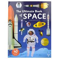 【首页抢券300-100】The Ultimate Book of Space 太空小百科立体翻翻书 太空大全 儿童英语