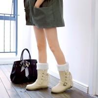 O'SHELL欧希尔新品135-500甜美平跟女士短靴