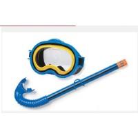 满百包邮INTEX探险者游泳面具组合 潜水镜 游泳眼镜+呼吸管套装