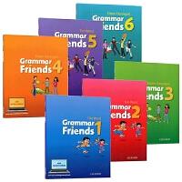 牛津小学英语语法书 1-6册 英文原版 Oxford Grammar Friends 和语法做朋友 涵盖剑桥少儿英语考试