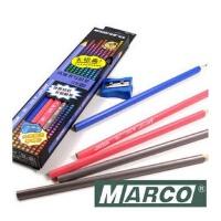 特价 Marco马可9002铅笔 马可三角铅笔易握正姿 木杆安全无毒 2H HB 2B