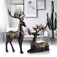 欧式鹿家居装饰品摆件客厅摆设送闺蜜结婚礼物