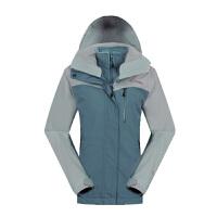 哥伦比亚(Columbia) 秋冬新品哥伦比亚女款户外防水三合一冲锋衣PL7055