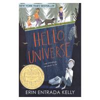 你好宇宙 纽伯瑞金奖作品 Hello Universe 英文原版进口图书 儿童英语文学小说 Erin Entrada