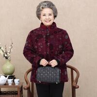 老年人冬装女棉袄70-80-90岁奶奶装棉衣加绒加厚老人外套冬季