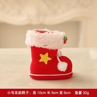 圣诞节装饰品圣诞袜小靴子糖果盒礼物袋摆件儿童玩具圣诞挂饰圣诞