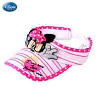 宝宝帽子防晒遮阳帽 迪士尼米妮2015夏新女童帽儿童空顶太阳帽子