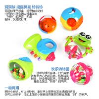 手摇铃6-12个月牙胶摇铃玩具摇铃玩具宝宝0-3个月