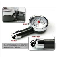 车用金属胎压计 盒装高精密度轮胎气压表 汽车胎压表
