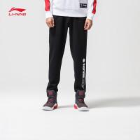 李宁迪士尼星战联名款男士卫裤2018新款长裤子男装春季收口运动裤AKLN225