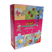 逻辑狗小学提升版第四阶段适合10岁以上儿童思维训练早教益智玩具 精装版