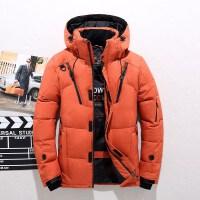 吉普盾(NIANJEEP)男士羽绒服男新款青年白鸭绒高绒含量外套保暖防寒服运动户外休闲滑雪服