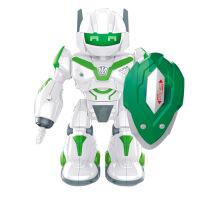 电动炫彩灯光音乐旋转跳舞机器人儿童模型机器人