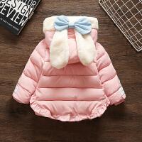 女童装羽绒1女孩女宝宝洋气冬装婴儿童棉衣外套