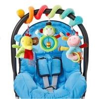 婴儿宝宝毛绒音乐床绕车挂件饰床头风铃摇铃男女孩玩具0-1岁