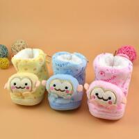 for kids/禾子家 冬季新款婴儿鞋0-1岁男女宝宝保暖鞋加绒舒适防滑学步棉鞋