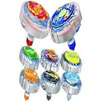 魔幻陀螺2梦幻儿童玩具发光拉线男孩焰天火龙王战斗盘
