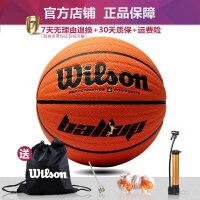 篮球儿童男孩小学生小篮球wave威尔逊专用球威尔森打 286VBallUP【送气筒气针球包网兜四件套】