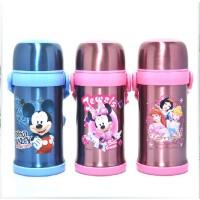 迪士尼儿童保温杯米奇不锈钢保温杯 学生保温杯宝宝 水壶