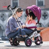 儿童三轮车脚踏车1-3岁婴儿手推车宝宝自行车