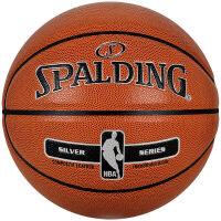 全粒面室内室外PU篮球Y 斯伯丁76-018 送打气筒+球包+气针