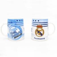 马克陶瓷杯子办公室水杯足球皇马AC米兰尤文阿森纳印花创意水杯球迷纪念品生日礼物