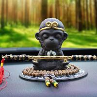 创意汽车摆件可爱饰品猴子车载摆件车内装饰品汽车上用品大圣悟空