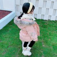 女宝宝公主棉袄女童羽绒冬装婴儿童冬季棉衣