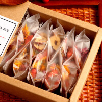 【包邮】汉馨堂 桂圆红枣枸杞茶 气血茶组合花果茶养生滋补八宝茶小包盒装